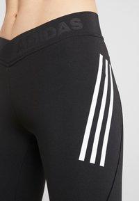 adidas Performance - ASK TEC  - Tights - black/white - 3