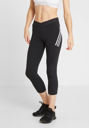 ASK TEC  - Legging - black/white