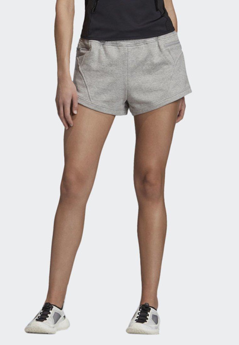 adidas by Stella McCartney - ATHLETICS SHORT - Sports shorts - medium grey heather