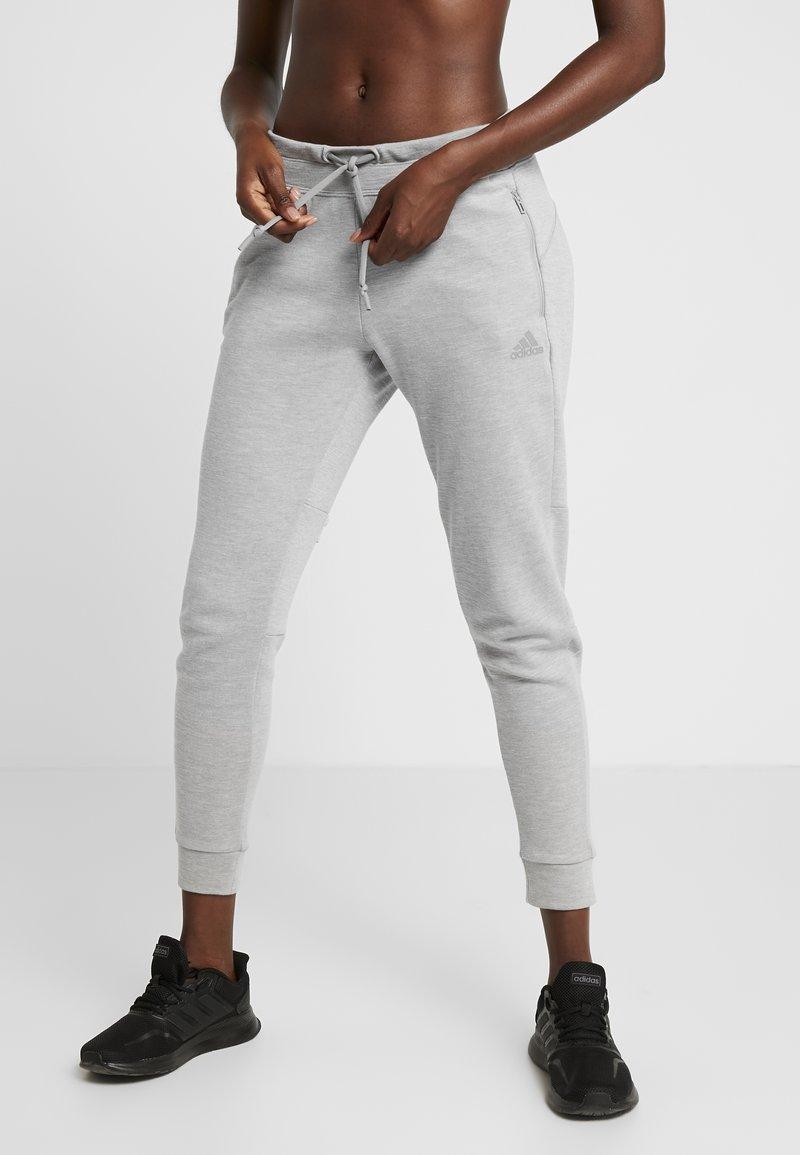 adidas Performance - Pantalones deportivos - solid grey/raw white