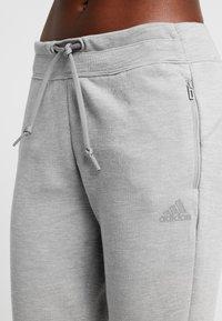 adidas Performance - Pantalones deportivos - solid grey/raw white - 3