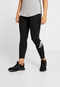 adidas Performance - Tights - black/white - 0