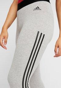 adidas Performance - Tights - medium grey heather/black - 4
