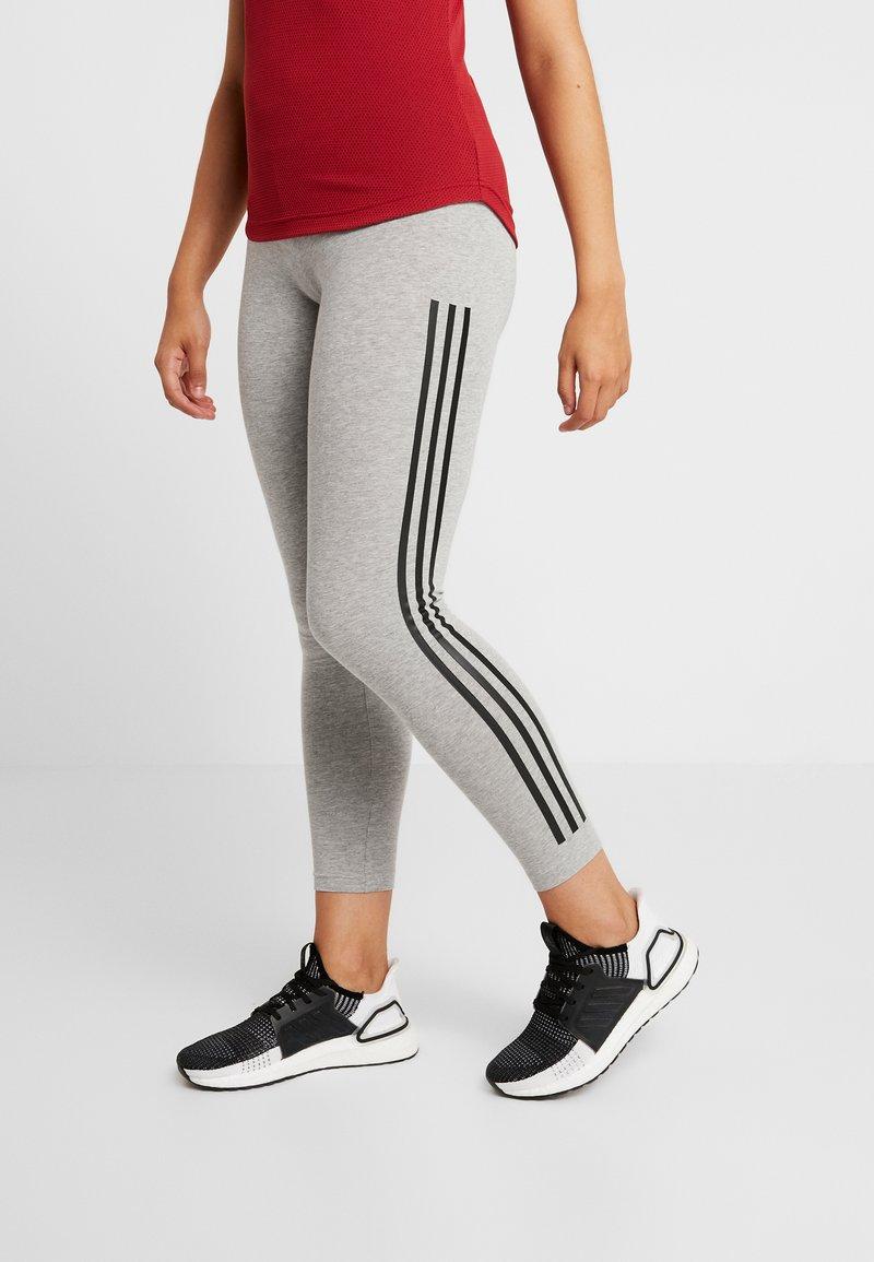 adidas Performance - Tights - medium grey heather/black
