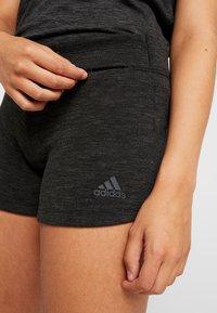 adidas Performance - Sports shorts - black/grey - 4