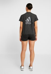 adidas Performance - Sports shorts - black/grey - 2