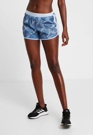 SHORT FENCE  - Pantalón corto de deporte - glow blue/real blue/tech ink