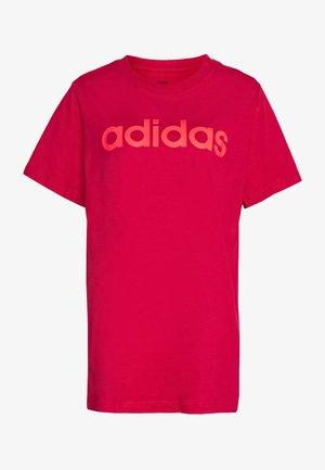 Print T-shirt - power pink/signal pink