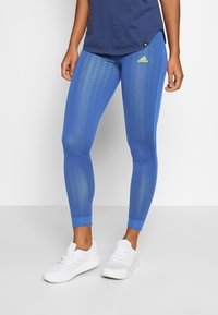 adidas Performance - OWN THE RUN - Leggings - tecind/shoyel - 0