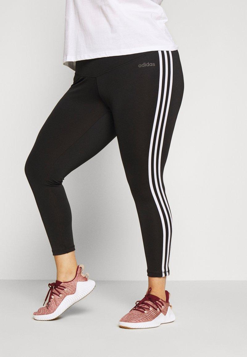 adidas Performance - Tights - black/white