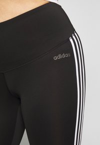 adidas Performance - Legging - black/white - 5