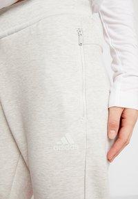adidas Performance - VER PANT - Spodnie treningowe - light grey - 4