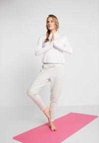 adidas Performance - VER PANT - Spodnie treningowe - light grey - 1