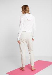 adidas Performance - VER PANT - Spodnie treningowe - light grey - 2