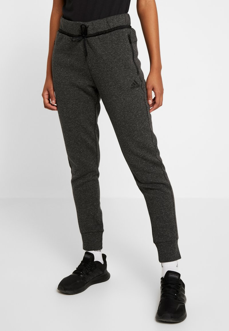 adidas Performance - VER PANT - Tracksuit bottoms - black