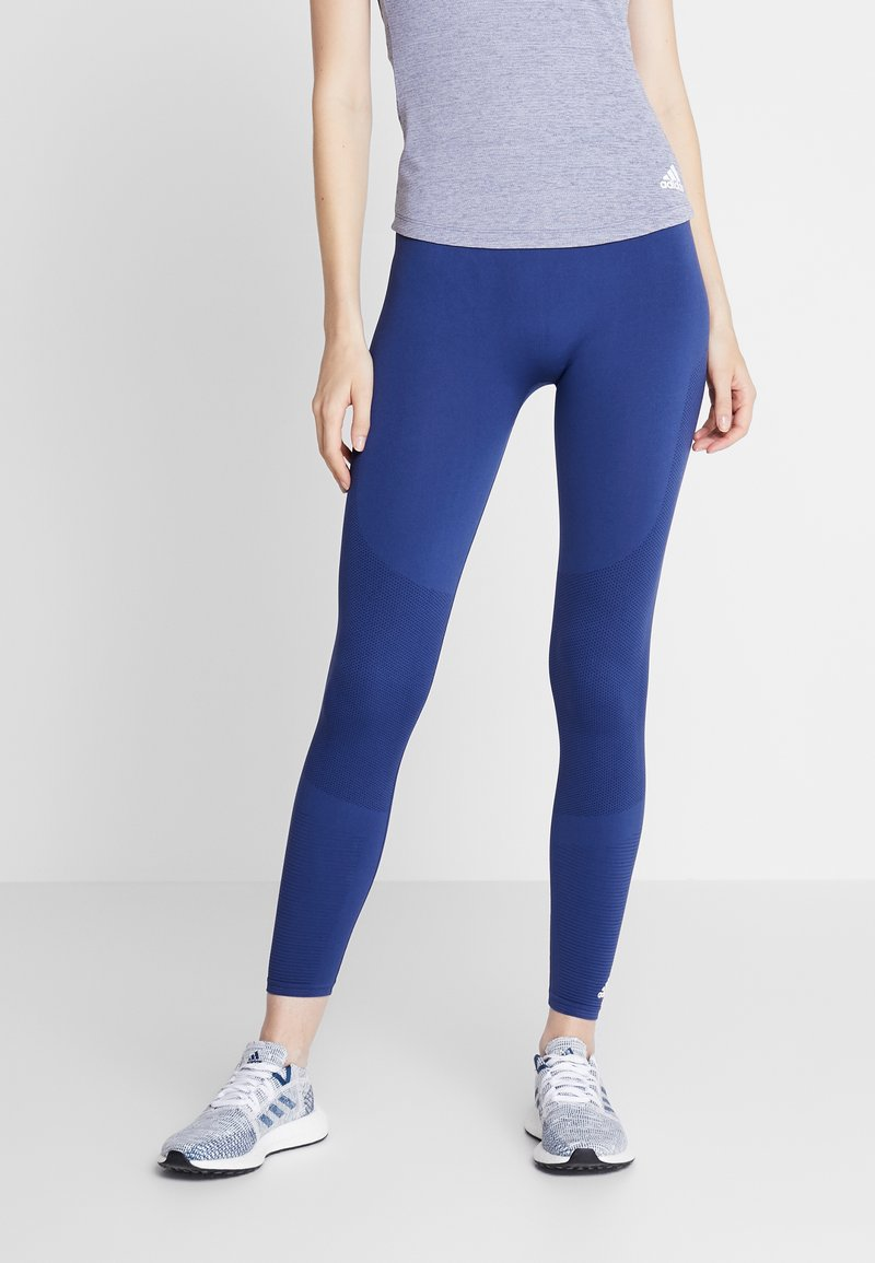 adidas Performance - Collants - dark blue