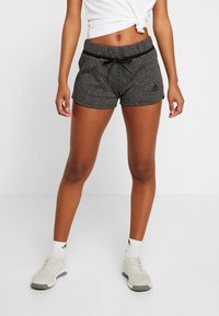 adidas Performance - SHORT - Sports shorts - black melange - 0
