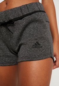 adidas Performance - SHORT - Sports shorts - black melange - 5