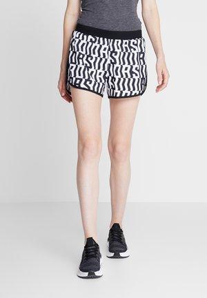 SHORT - Sports shorts - white/black