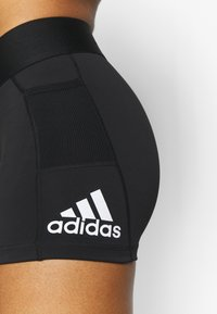 adidas Performance - ASK SHORT - Legging - black/white - 4