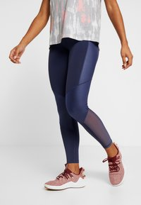 adidas Performance - SHINE - Tights - tech indigo - 0
