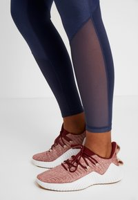 adidas Performance - SHINE - Tights - tech indigo - 4