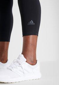 adidas Performance - SOLID 7/8 - Legging - black - 4