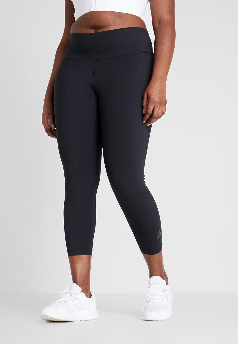 adidas Performance - SOLID 7/8 - Legging - black