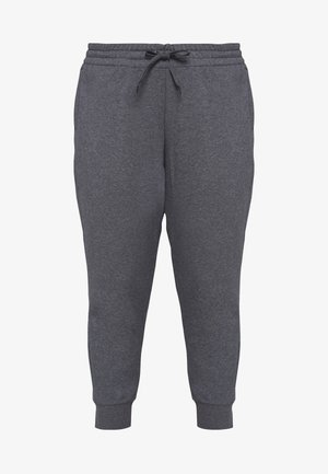 PANT - Tracksuit bottoms - dark grey heather/purple