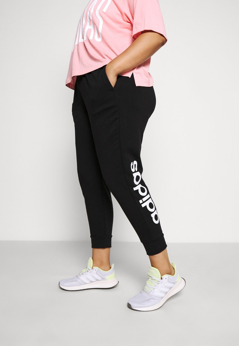 adidas Performance - PANT - Joggebukse - black/white