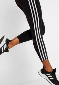 adidas Performance - Legginsy - black/white - 3