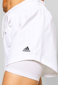 adidas Performance - SHORT - Sports shorts - white - 4