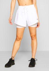 adidas Performance - SHORT - Sports shorts - white - 0