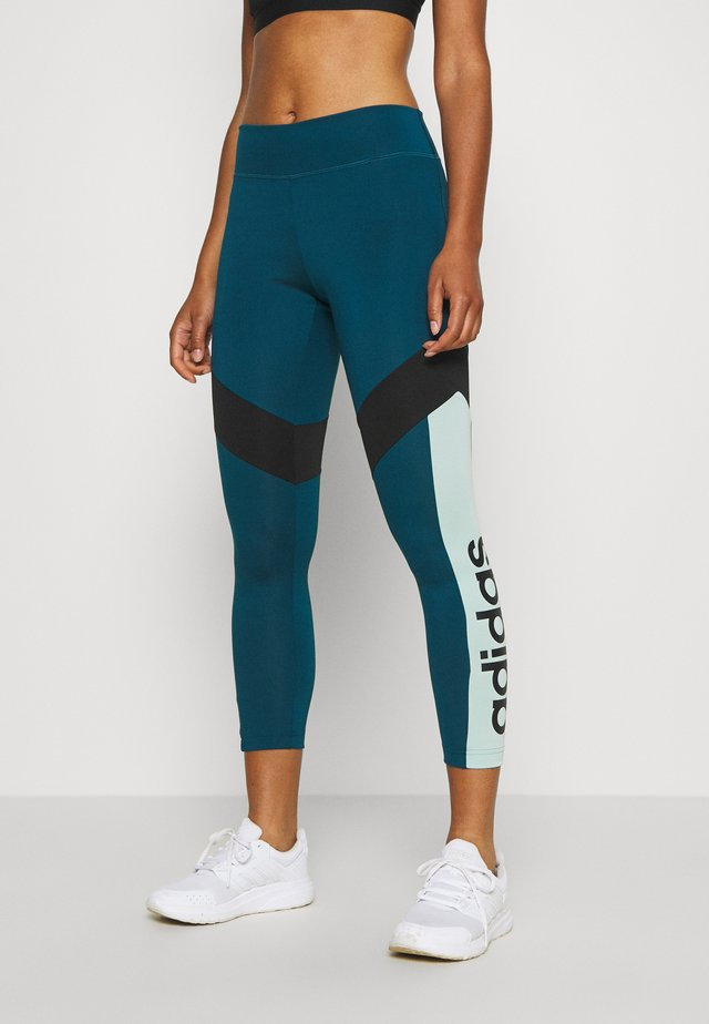 Leggings - tech mint/black