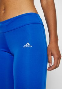 adidas Performance - OWN THE RUN - Tights - glow blue - 3