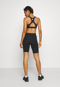 adidas Performance - SHORTS - Leggings - black/white - 2