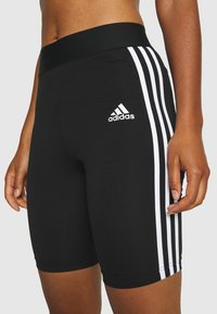 adidas Performance - SHORTS - Leggings - black/white - 3