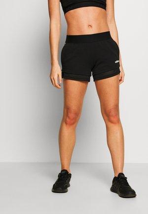 SHORTS - Sportovní kraťasy - black/white