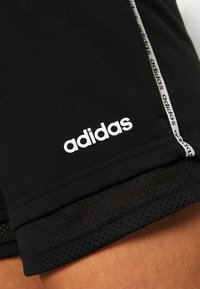 adidas Performance - SHORTS - Sports shorts - black/white - 4