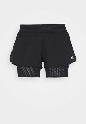 HEAT.RDY SHORT - Urheilushortsit - black