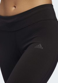adidas Performance - OWN THE RUN 3/4 LEGGINGS - 3/4 sports trousers - black - 5