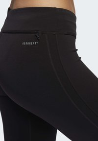 adidas Performance - OWN THE RUN 3/4 LEGGINGS - 3/4 sports trousers - black - 4