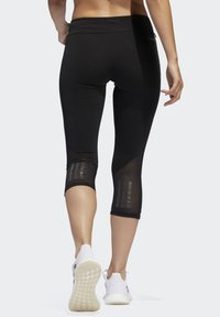adidas Performance - OWN THE RUN 3/4 LEGGINGS - 3/4 sports trousers - black - 1