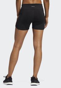 adidas Performance - OWN THE RUN SHORT TIGHTS - Sports shorts - black - 1