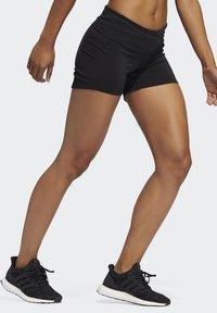 adidas Performance - OWN THE RUN SHORT TIGHTS - Sports shorts - black - 3