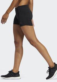 adidas Performance - OWN THE RUN SHORT TIGHTS - Sports shorts - black - 2