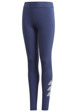 MUST HAVES BADGE OF SPORT LEGGINGS - Tights - tech indigo