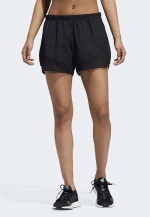 MARATHON 20 LIGHT SPEED SHORTS - Pantaloncini sportivi - black