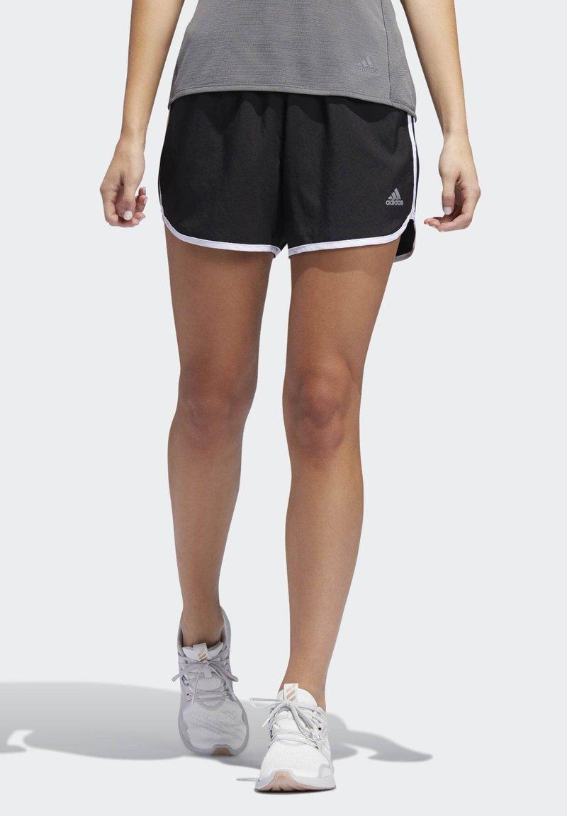 adidas Performance - MARATHON 20 SHORTS - Sports shorts - black