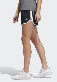 adidas Performance - MARATHON 20 SHORTS - Sports shorts - black - 2